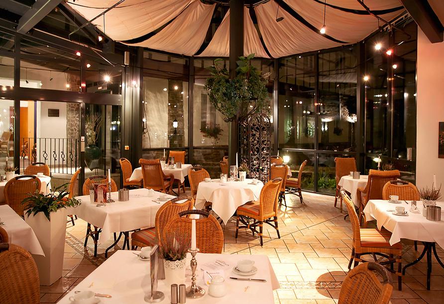 Sonnenhotel Hoher Hahn in Schwarzenberg, Restaurant