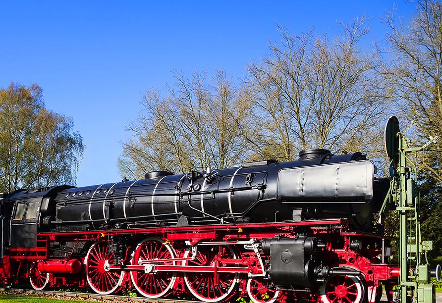 Sonnenhotel Hoher Hahn in Schwarzenberg, Eisenbahnmuseum Schwarzenberg
