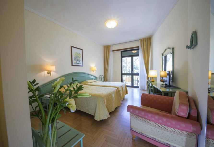 Hotel Terme Milano in Abano Terme, Beispieldoppelzimmer