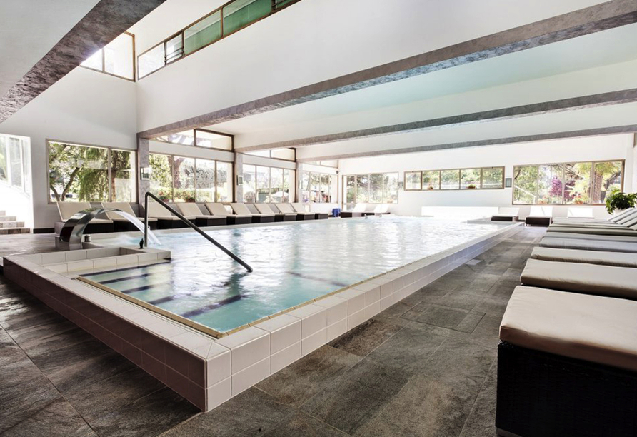 Hotel Terme Milano in Abano Terme, Hallenbad