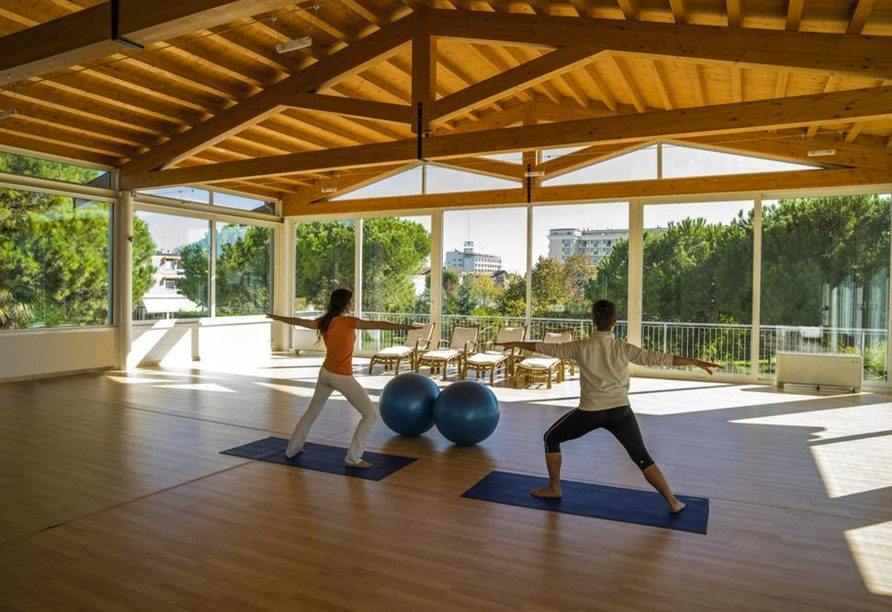 Hotel Terme Milano in Abano Terme, Fitnessbereich