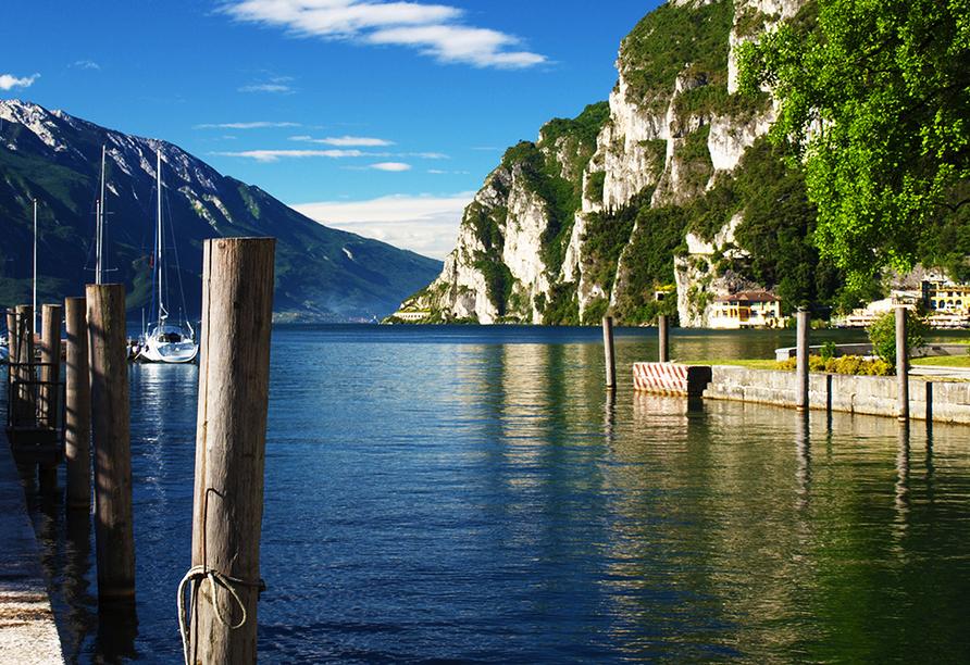Sporthotel Olimpo in Garda am Gardasee Seeanblick