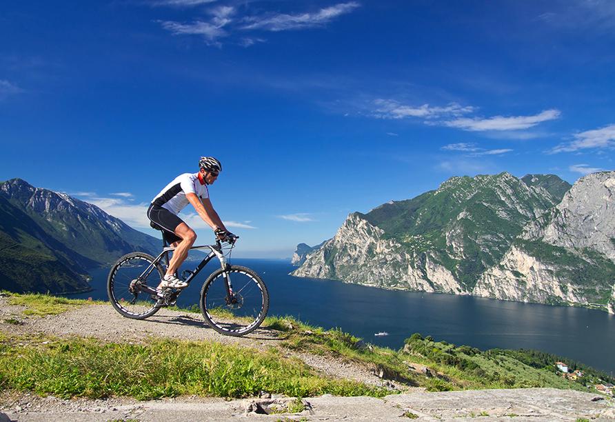 Sporthotel Olimpo in Garda am Gardasee Radfahren