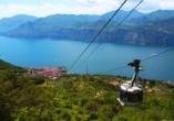 Sporthotel Olimpo in Garda am Gardasee , Seilbahn