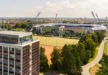 Hotel Sportforum in Rostock, Außenansicht