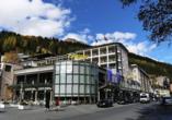 Hotel Europe in Davos Platz, Außenansicht