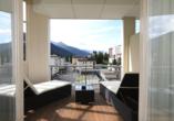 Hotel Europe in Davos Platz, Balkon Doppelzimmer Superior