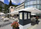 Hotel Europe in Davos Platz, Terrasse