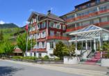Hotel Sternen, Unterwasser, Toggenburg, Schweiz, Außenansicht, Sommer