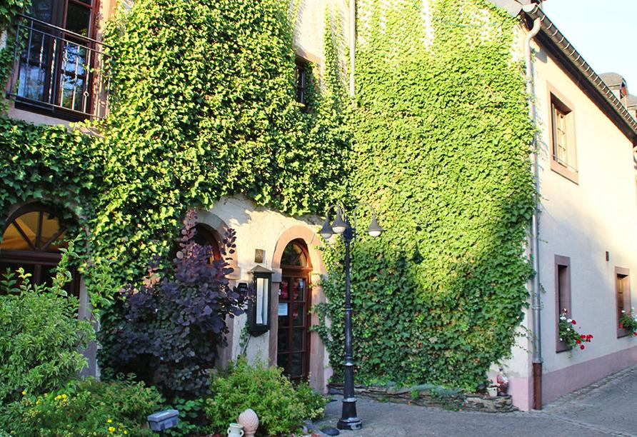 Hotel Aux Anciennes Tanneries, Wiltz, Luxemburg, Eingang