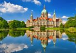 Relexa Hotel Bad Salzdetfurth bei Hildesheim in Niedersachsen, Rathaus Hannover