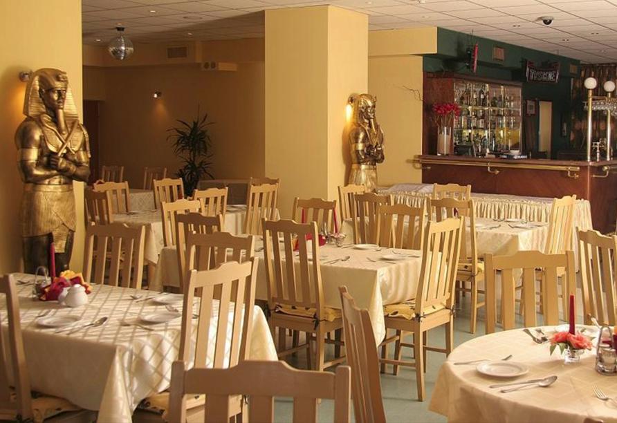 Hotel Relax Inn Health & Spa in Henkenhagen an der polnischen Ostseeküste Restaurant