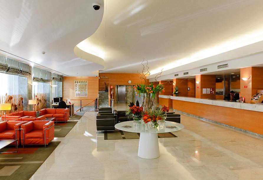 Lissabon, Hotel Roma Lobby