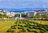 Hotel Roma in Lissabon, Parque Eduardo