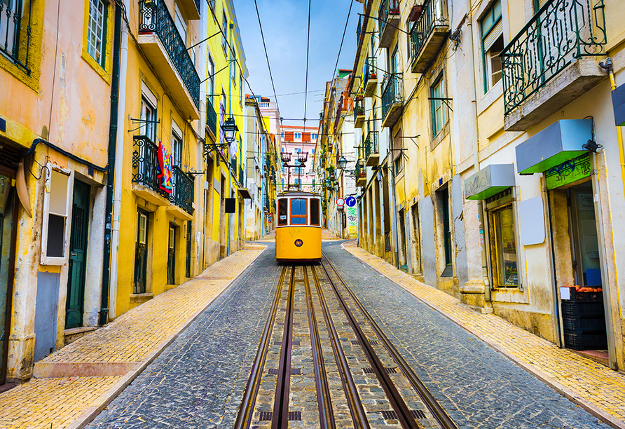 Hotel Roma in Lissabon, Tram
