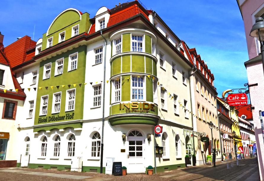 Hotel Döbelner Hof Sachsen, Außenansicht