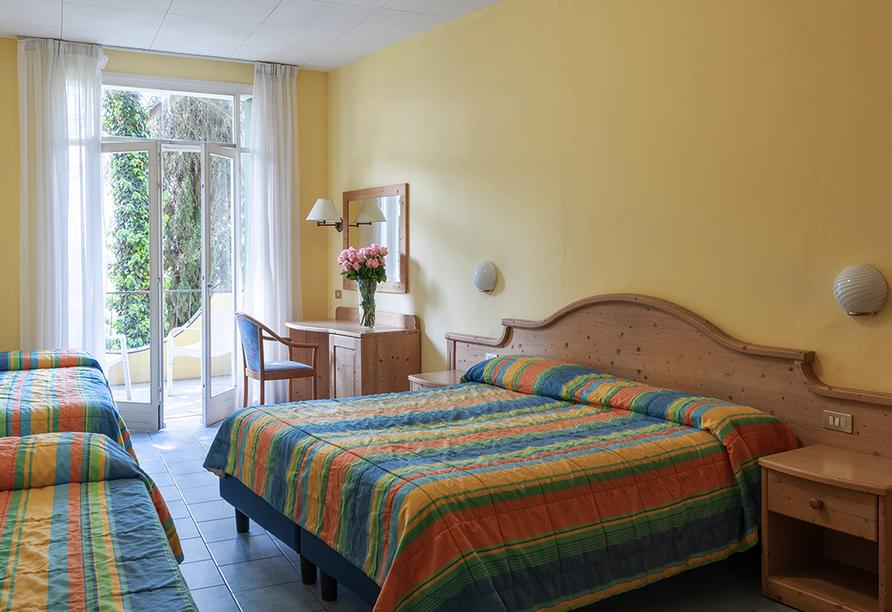 Hotel Marco Polo Garda, Beispiel Doppelzimmer Extra Bett