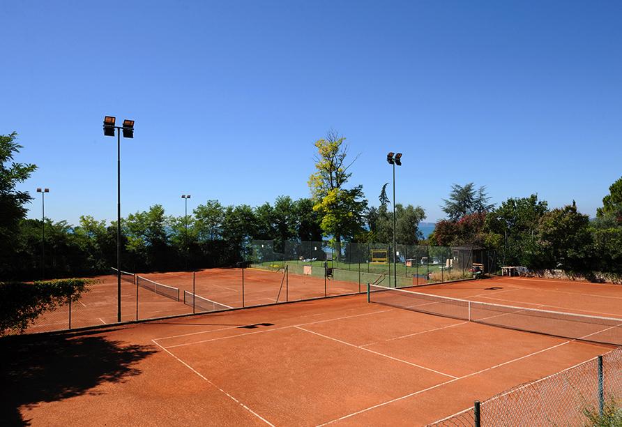 Hotel Marco Polo Garda, Tennisplatz