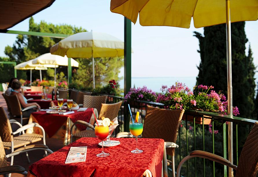 Hotel Marco Polo Garda, Terrasse