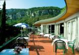 Hotel Marco Polo Garda, Terrasse 2