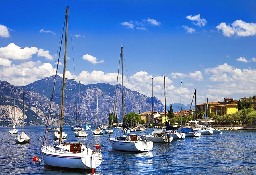 Hotel Marco Polo Garda, Gardasee
