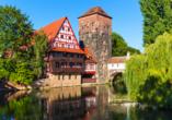 Landpension Postwirt in Kirchensittenbach in Mittelfranken, Ausflugsziel Nürnberg