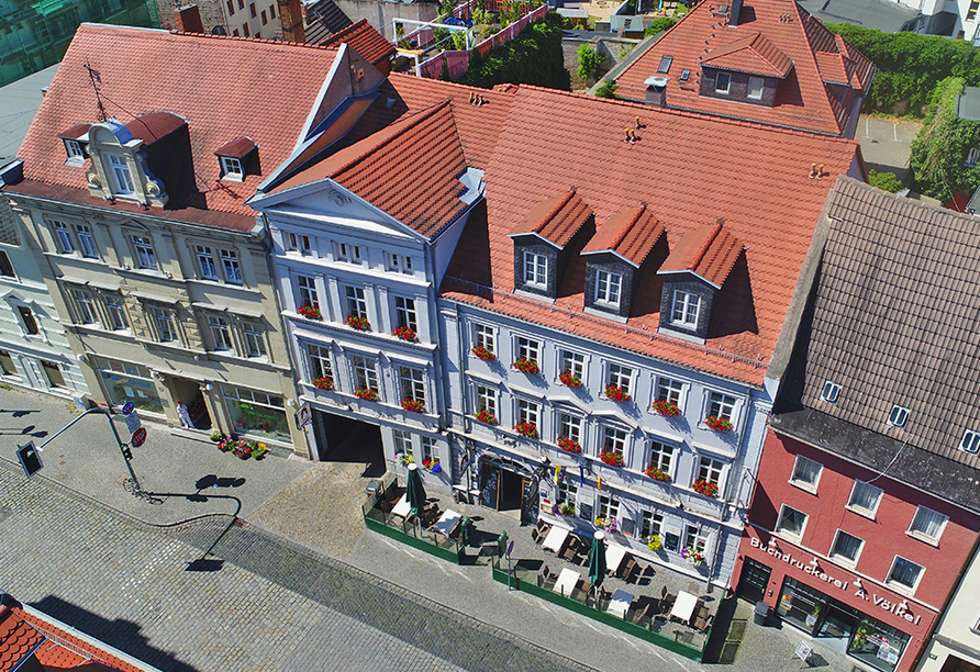 Askania Hotel Bernburg, Luftansicht