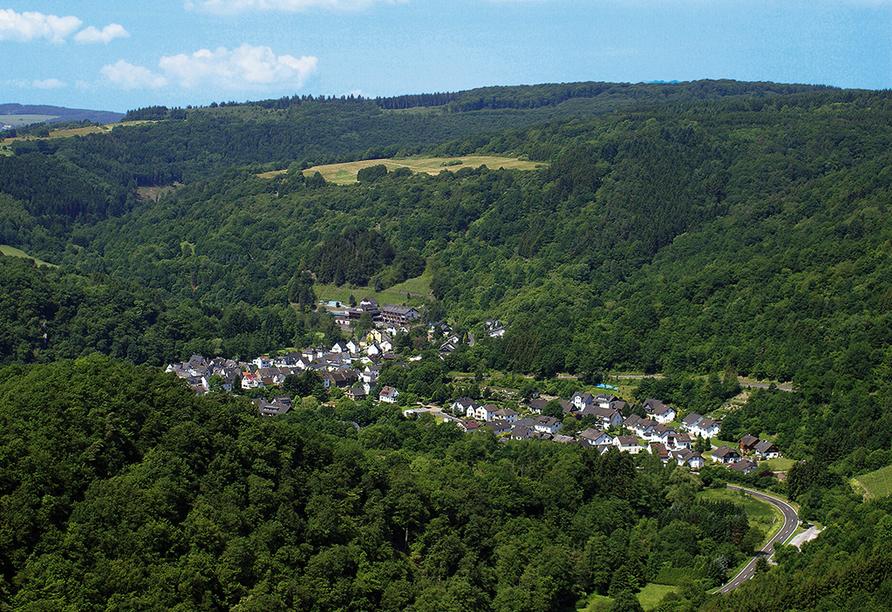 Landhotel Weinhaus Treis, Ausblick