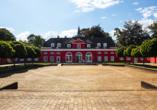 Parkhotel Oberhausen in Oberhausen im Ruhrgebiet, Schloss