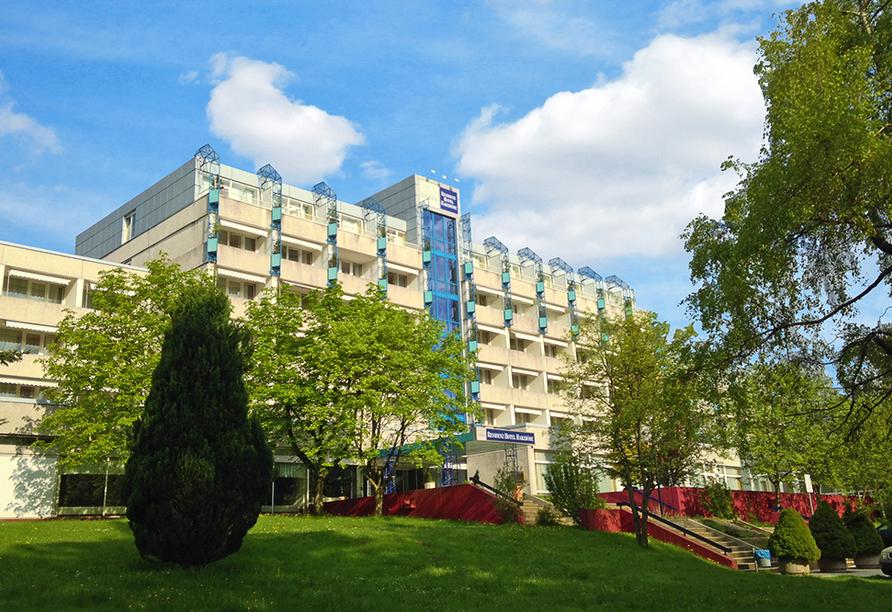 CAREA Residenz Hotel Harzhöhe in Goslar-Hahnenklee im Harz, Außenansicht