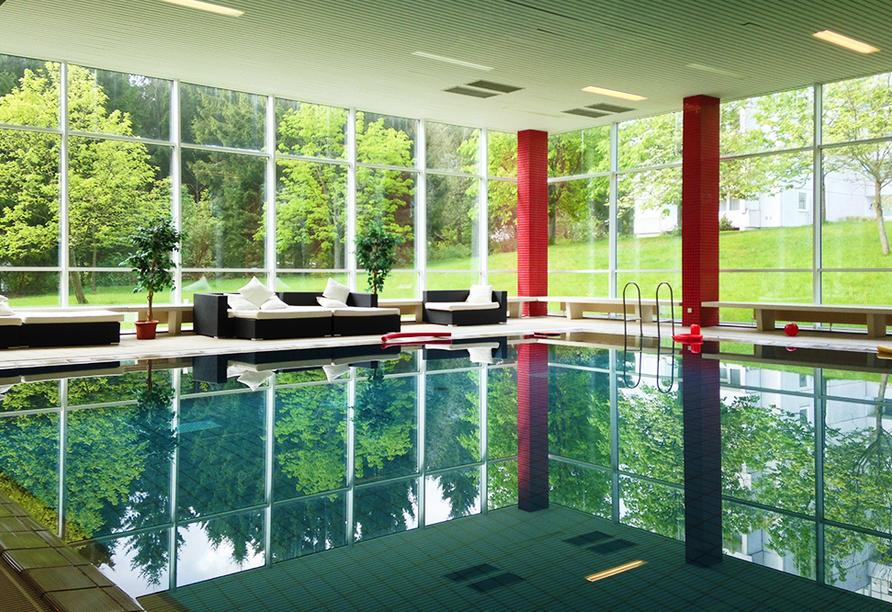 CAREA Residenz Hotel Harzhöhe in Goslar-Hahnenklee Schwimmbad