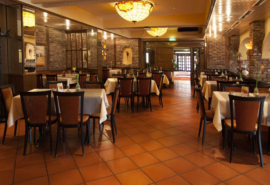 PP-Hotel Grefrather Hof in Grefrath am Niederrhein Restaurant