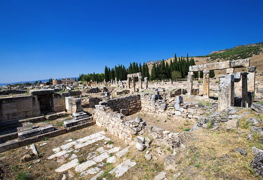 Türkische Riviera & Pamukkale, Hierapolis
