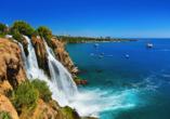 Türkische Riviera & Pamukkale, Düden Wasserfälle
