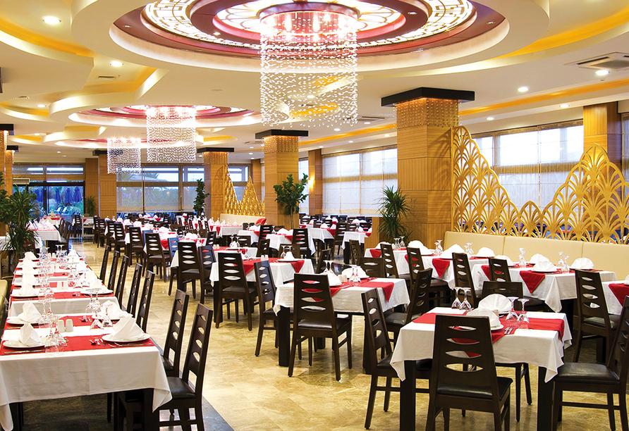 Türkische Riviera & Pamukkale, Restaurant