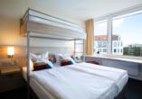 Atlantic Hotel am Flötenkiel, Zimmerbeispiel mit Hochbett
