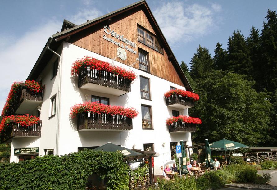 Landhotel Osterlamm, Außenansicht