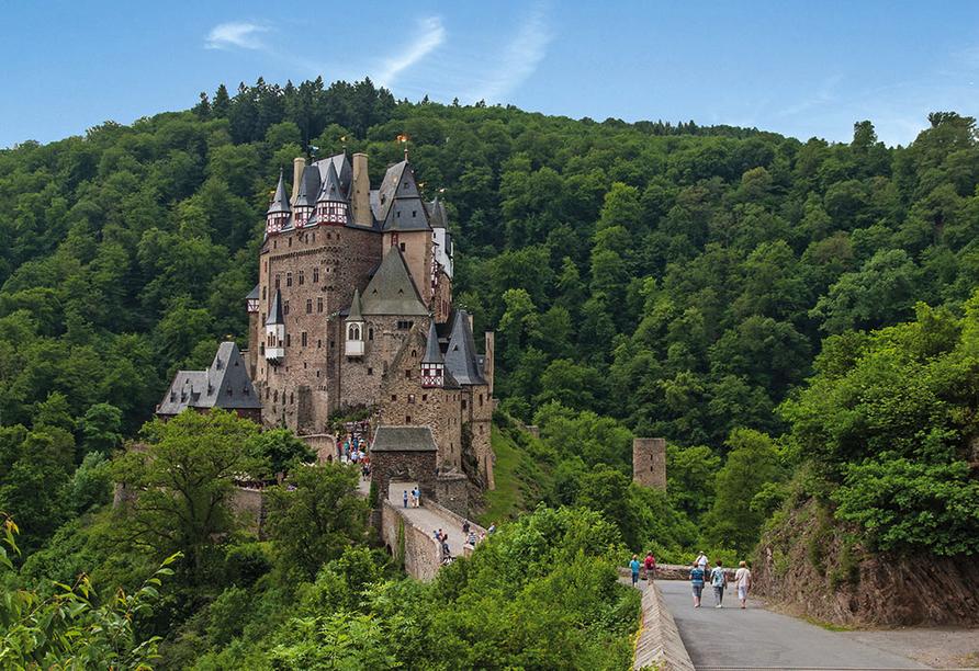 Hotel Zum guten Onkel in Bruttig-Fankel Mosel, Burg Eltz