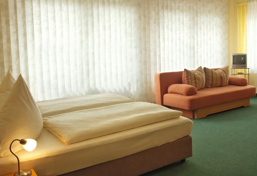Moselstern Hotel Zum guten Onkel in Bruttig-Fankel Mosel, Zimmerbeispiel