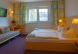 Seehotel Karlslust in Storkow/Mark in Brandenburg, Zimmerbeispiel
