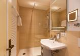 Wunsch Hotel Mürz in Bad Füssing, Badezimmerbeispiel