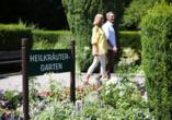 Wunsch Hotel Mürz in Bad Füssing, Kräutergarten