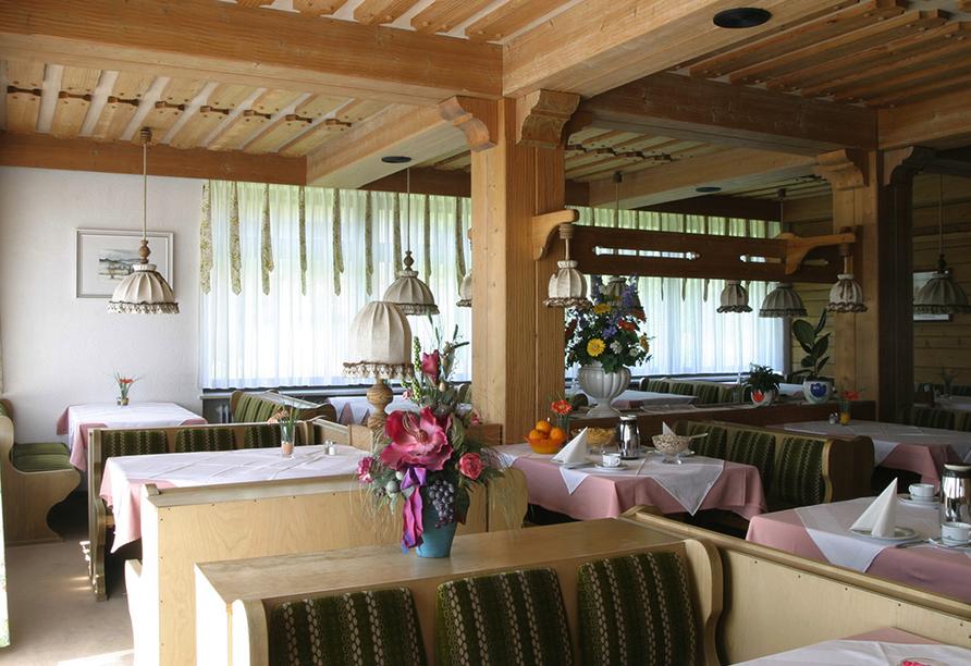 Hotel Hubertushof, Spiegelau, Bayerischer Wald, Frühstücksraum