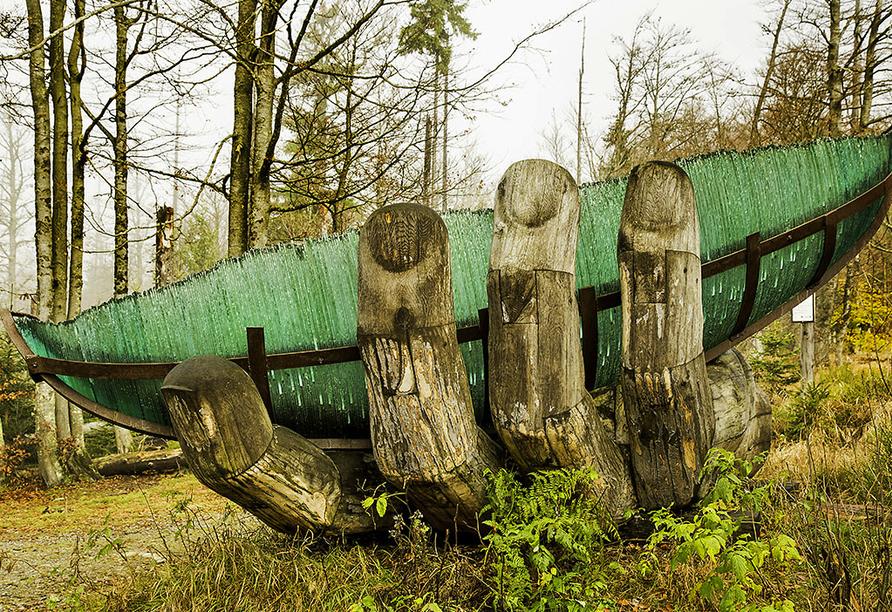 Gasthof Genosko, Spiegelau, Bayerischer Wald, Glasarche Lusen