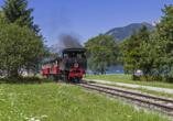 Landgasthof Astner Münster Tirol, Dampf Zahnradbahn