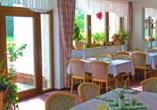 Hotel Im Kräutergarten in Cursdorf im Thüringer Wald Restaurant