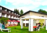 Hotel Im Kräutergarten in Cursdorf im Thüringer Wald Garten