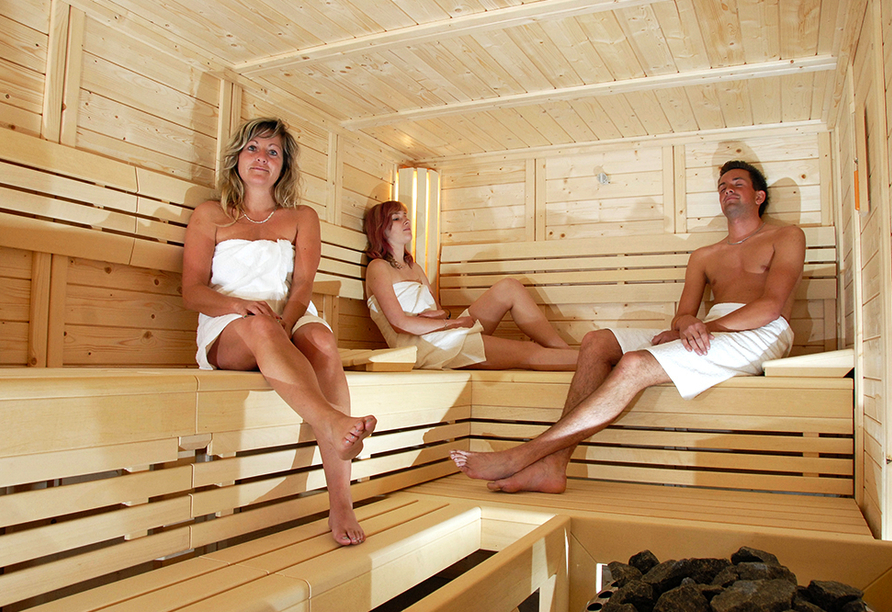 Hotel Im Kräutergarten in Cursdorf im Thüringer Wald Sauna
