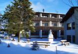 Hotel Im Kräutergarten in Cursdorf im Thüringer Wald Außenansicht