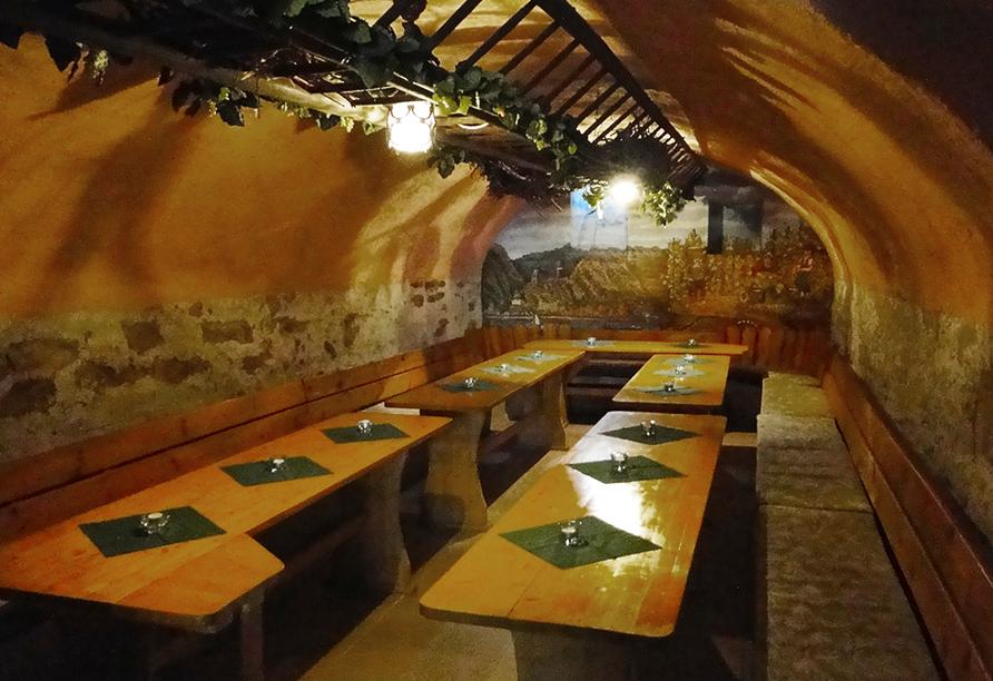 Mühlen Hotel Konschake in Burgen an der Mosel Weinstube